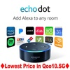 FROM USA/All-New Amazon Echo Dot (2nd Generation)Black/White/play music/amazon echo