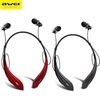 Awei A810BL Sports Bluetooth v4.0 Stereo In-ear Headset - Black/Red