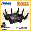 (PROMO) ASUS RT-AC5300 Tri-Band Gigabit WiFi Gaming Router with MU-MIMO, supporting AiProtection network security powered by Trend Micro, built-in WTFast game accelerator and Adaptive QoS