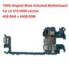 For LG V10 H900 64GB Motherboard with Full Chips 64gb Original unlocked Logic boards with Android System