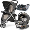 [sb]Chicco Viaro Teak Stroller Travel System with extra Keyfit 30 Base - Anthracite[USA]