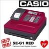 CASIO Cash Register |SE-G1 | 1 year warranty | 24 departments | 999 PLU | 5 x Free Paper roll