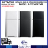HITACHI 450L 2 DOOR REFRIGERATOR * R-VG560P7MS * 3 TICKS * 10 YEARS COMPRESSOR WARRANTY