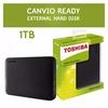 Toshiba 1TB Canvio Ready Basics 3.0 USB HDD Portable External Hard Drive (Black)