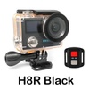 "Action Camera EKEN H8 /H8R Ultra HD 4K 30FPS WiFi 2.0"" 170D Dual Lens Helmet Bike Mini Cam Underwater Waterproof Sport Camera(H8R black - Standard) - intl"