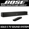 Bose Solo 5 TV Sound System Bluetooth Soundbar With TVLaptop remote control NO GST