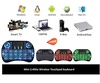 TD Triumphant Rii I8 Mini 2.4Ghz Wireless Touchpad Keyboard With Mouse For Pc, Pad, Xbox 360, Ps3, Google Android Tv Box, Htpc, Iptv (Black)
