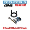 Asus PCE-AC55BT Dual-Band PCE-E wireless AC1200 card with Bluetooth 4.0