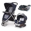 [sb]Chicco Viaro Stroller Travel System with Extra Car Seat Base - Oxford[USA]