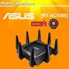 ASUS RT-AC5300 AC5300 Tri-Band Gigabit WiFi Gaming Router with MU-MIMO supporting AiProtection