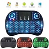 booby Rii I8 Mini 2.4Ghz Wireless Touchpad Keyboard With Mouse ForPc. Pad. Xbox 360. Ps3. Google Android Tv Box. Htpc. Iptv (Black) - intl