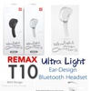 Remax RB-T10 T10 Bluethtooth Headset (White)