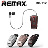 Remax RB-T12 Collar Clip-on Bluetooth Earpiece Headset Earphone Handsfree Car Android iPhone Samsung