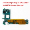 For Samsung Galaxy S6 EDGE G925F Original Motherboard 32GB Unlocked Mainboad With Chips IMEI Android OS Logic Board