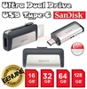 Original Sandisk Ultra Type-C Dual USB Drive 3.1 16GB / 32GB / 64GB / 128GB OTG Up to 150MB/S For Samsung Galaxy Note 7 Xiaomi Mi 5 Sony * Transfer File between Computer and Phone * Memory *