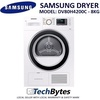 SAMSUNG 8KG DRYER *MODEL: DV80H4200CW/SP *Crystal White Design *Automatic Dirt Alarm *Instant Water Check *1 YEAR SAMSUNG WARRANTY