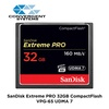SanDisk Extreme PRO 32GB CompactFlash VPG-65 UDMA 7 (Up to 160MB/s Read, 150MB/s Write) CF Memory Card SDCFXPS
