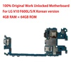 For LG V10 F600L/S/K 64GB Motherboard with Full Chips 64gb Original unlocked Logic boards with Android System