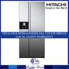 HITACHI R-M700AGP4MSX-DIA 3 DOOR 584L 3 TICKS FRIDGE* LOCAL AGENT WARRANTY