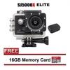 EverPro SJCAM SJ5000X Elite 4K WiFi Action Camera (Black) + Bag
