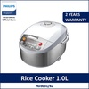 Philips HD3031/62 Viva Collection Fuzzy Logic Rice Cooker / 1.0 L Multifunction 12-hour preset timer
