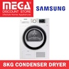 SAMSUNG DV80H4200CW 8KG CONDENSER DRYER / LOCAL WARRANTY