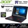 Acer Predator 17 (G9-793-71BW) Gaming Laptop/i7-HQ/Nvidia GTX1060/16GB RAM/1TB HDD + 256GB SSD/2 Years Acer Local Warranty