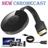 Google Chromecast 2 Digital WIFI HDMI Media TV Video Streamer 2nd Generation (Color: Black)