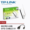 TP-LINK TL-WN722N 2.4GHz 150Mbps High Gain Wireless N USB Adapter with Powerful 4dBi External Antenna for Computer PC or Laptop - intl