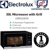 ★ Electrolux EMS3087X 30L 4-In-1 Microwave with Grill ★ (1 Year Singapore Warranty)