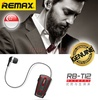 Remax RB-T12 Clip-On Bluetooth Earpiece Headset Headphone Apple Android Phone
