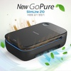 Philips New GoPure SlimLine 210 Air Cleaner for Car Use / Filter Type / Finedust 99.9% Removal / Car