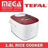 TEFAL RK8145 OPTIMAL FUZZY LOGIC 1.8L RICE COOKER / LOCAL WARRANTY