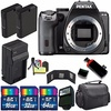 Pentax Pentax K-S2 DSLR Camera (Black) + Replacement Battery + External Charger + 112GB Deluxe Acces