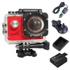 Original SJCAM Sports Action Camera NovatekNTK966551080PFullHDSJCAM SJ4000 WIFI Sports Camcorder DV (Red)+ExtraBattery+Charger + Car Set - intl