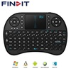 FINDIT Rii I8 Mini 2.4Ghz Wireless Touchpad Keyboard With Mouse For Pc, Pad, Xbox 360, Ps3, Google Android, Htpc, Iptv (Black)