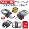 Original Sandisk Ultra Dual USB m3.0 128GB OTG for your Smartphone Samsung Sony Xiaomi ★ Transfer your content between phone tablet and computer ★ Thumb Drive ★ Flash Drive ★ Memory Card