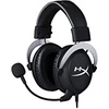 HyperX CloudX HX-HS5CX-SR Gaming Headset with Detachable mic (Black and Silver)