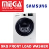 SAMSUNG WW90K6410QW 9KG FRONT LOAD WASHER / NO FREE GIFT / LOCAL WARRANTY