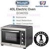 ★ Delonghi EO4055 40L Convection + Rotisserie Electric Oven ★ (1 Year Singapore Warranty)