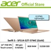 Acer Swift 5 SF514-52T-57WC(Gold) Thin & Light Laptop - Free Gift with purchase