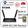D-Link DWR-921 N300 4G LTE Router with Built in Sim Card Slot Can Support Up to 32 Devices