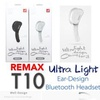 Remax RB-T10 T10 Bluethtooth Headset (Black)
