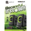 Sonic Gear Quatro 2 Portable Speaker 6W RMS / Powered by USB - Green