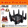 Asus RT-AC5300 Tri-Band Wireless Gigabit Router AiProtection with Trend Micro for Complete Ne twork Security