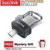 SanDisk Ultra Dual Drive 64GB m3.0 OTG USB Flash Drive for Android & Computers (SDDD3-064G-G46)
