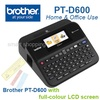 Brother PT-D600 Home Office Portable Labeller with Color LCD Display