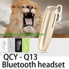 SG High quality QCY Q13 2014 Hotsell Microphone Bluetooth Stereo Headset Waterproof Wireless Earphon