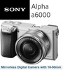 ★SHIP From SG★ Sony Alpha a6000 Mirrorless Digital Camera ILCE-6000L with 16-50mm Lens Kit (Black/Silver/White) 2015 BRAND New a5100 a5000 ★SG51 Sale★ a6300