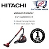★ Hitachi CV-SA8000RJ Cyclonic Vacuum Cleaner ★ ( 1 Year Singapore Warranty )